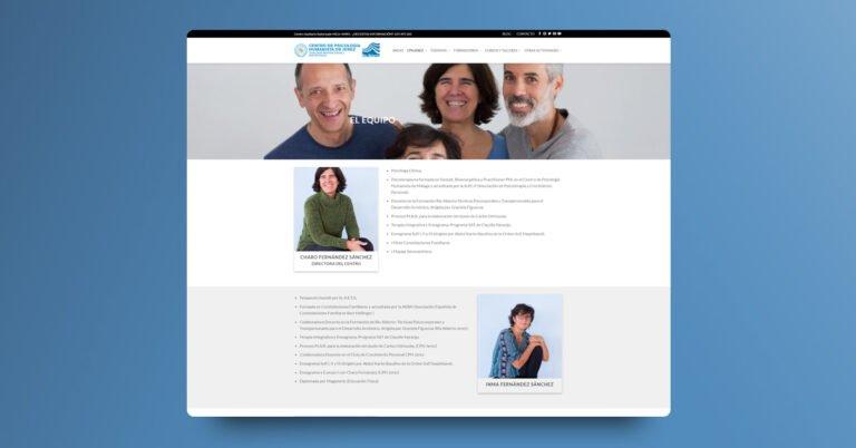Desarrollo web en WordPress para CPHJerez - Creaktiva