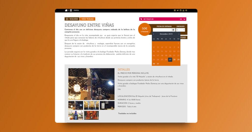 Portal para La Ruta del Vino y el Brandy de Jerez - Creaktiva