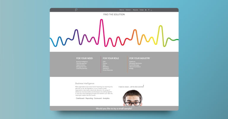 Diseño Web en WordPress ProgresSum - Creaktiva