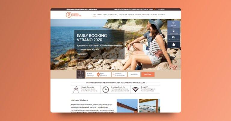 Websites para Pierre & Vacances – Center Parcs - Creaktiva