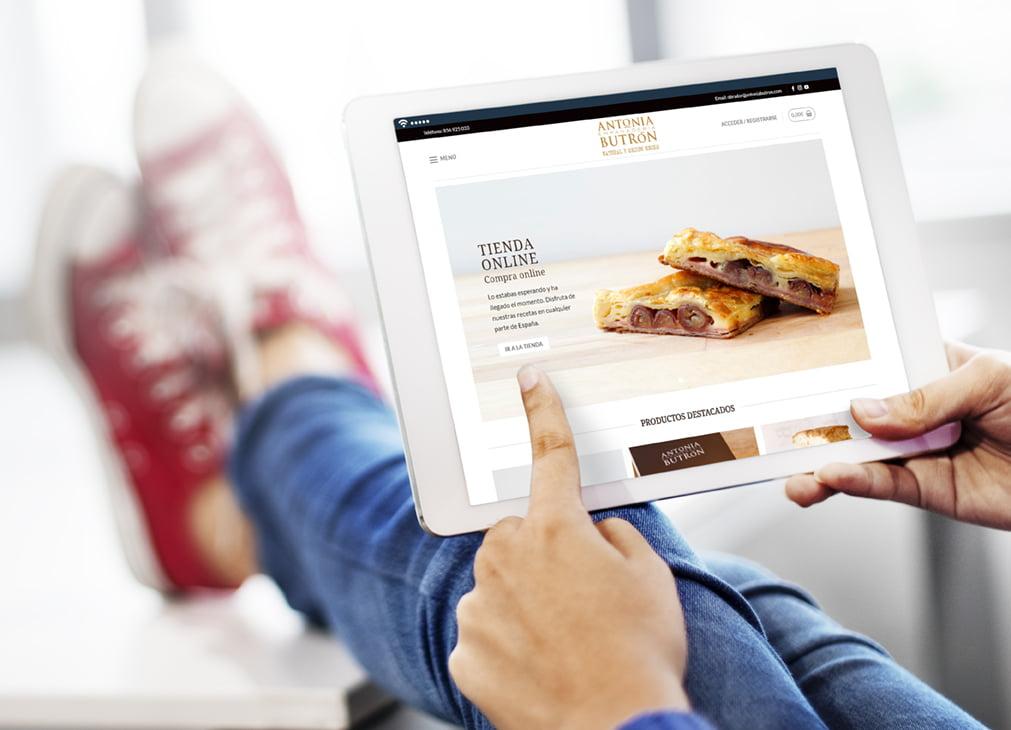 Tienda Online Empanadería Antonia Butrón - Creaktiva