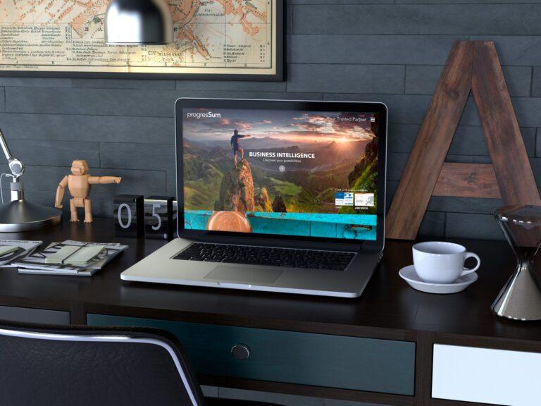 Diseño Web en WordPress ProgresSum - Creaktiva