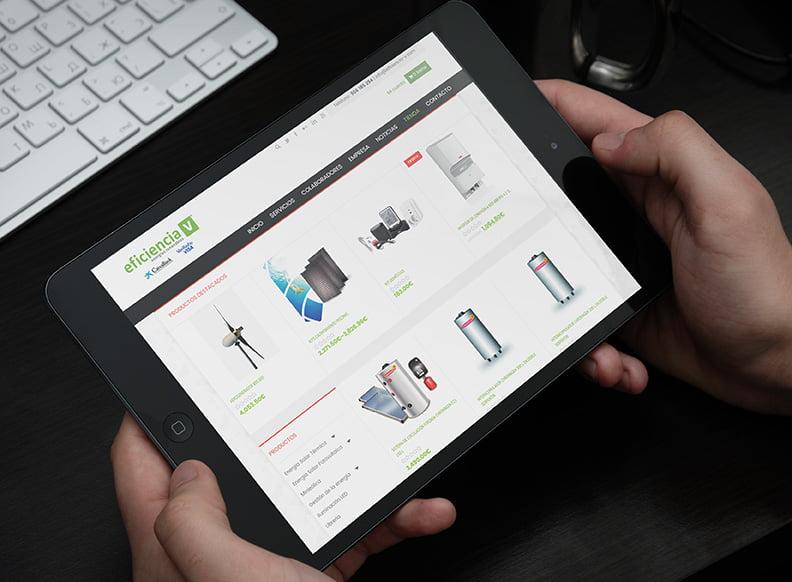 Tienda Online Eficiencia V - Creaktiva