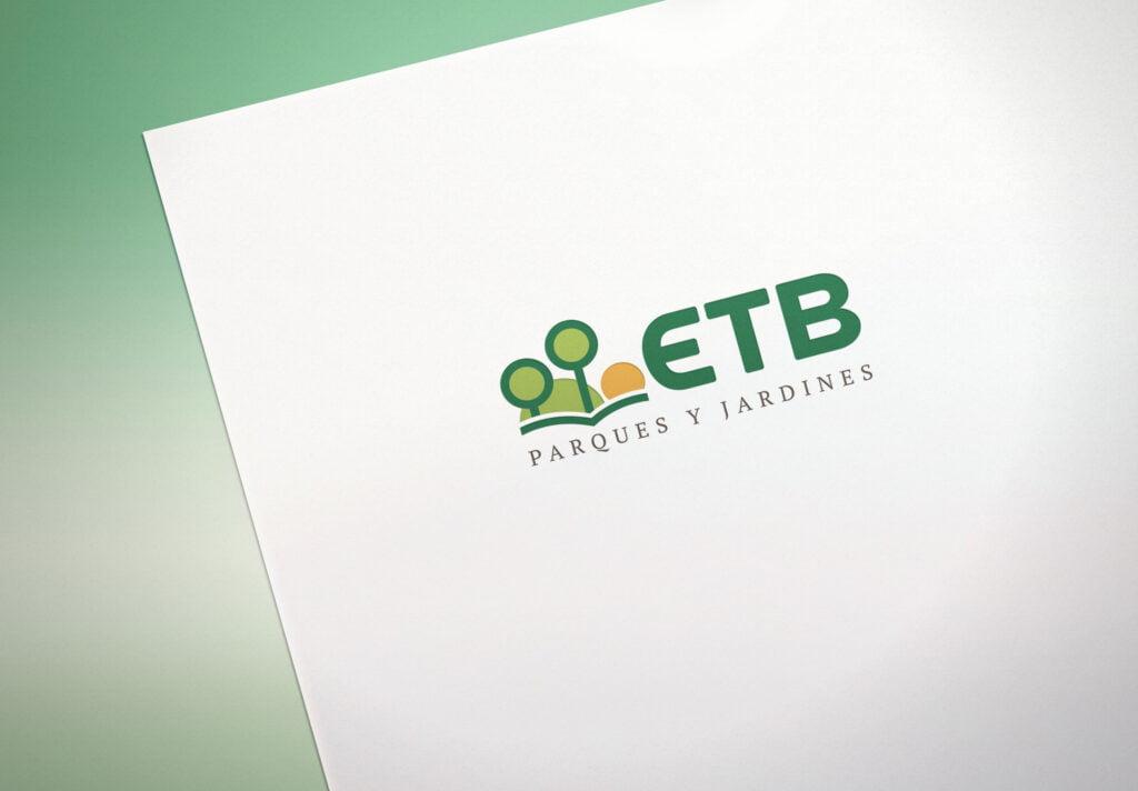 Logotipo para ETB Parques y Jardines - Creaktiva
