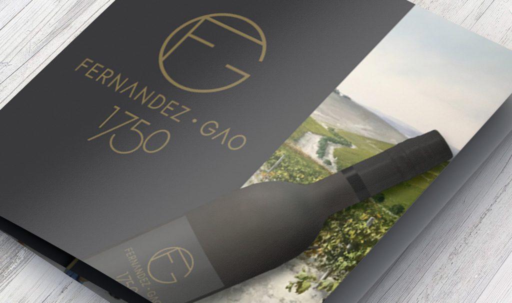 Díptico con ficha de productos para Fernández Gao