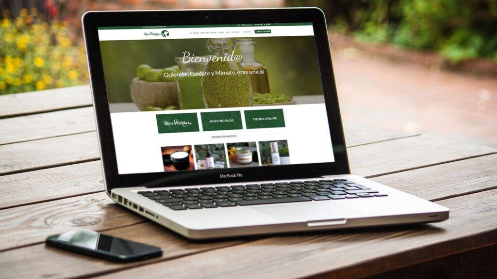 Diseño de Tienda Online Miss Hierbas - Creaktiva