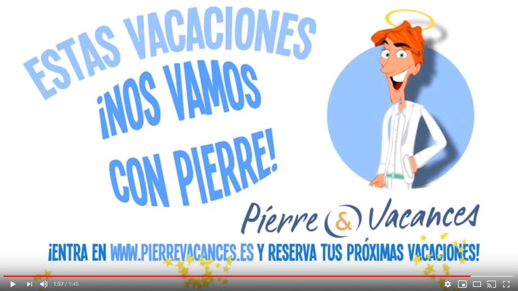 Vídeo promocional para Pierre & Vacances - Creaktiva