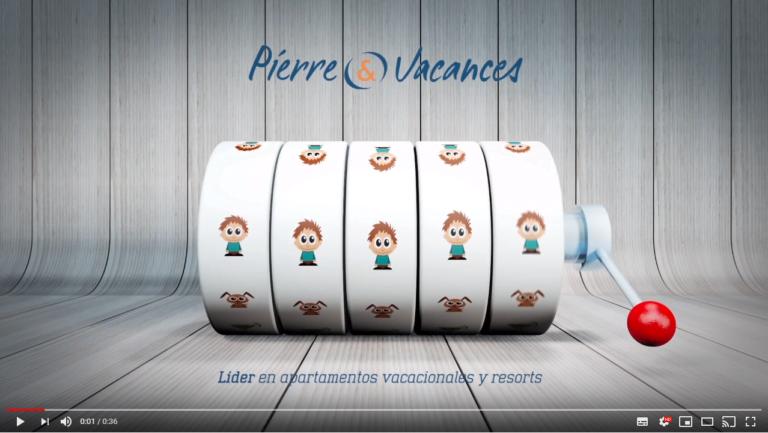 Vídeo campañas redes sociales Pierre & Vacances - Creaktiva