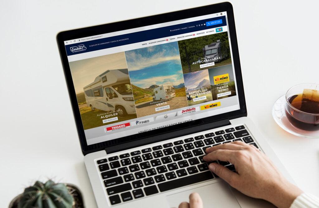 Tienda Online WebCaravan - Creaktiva
