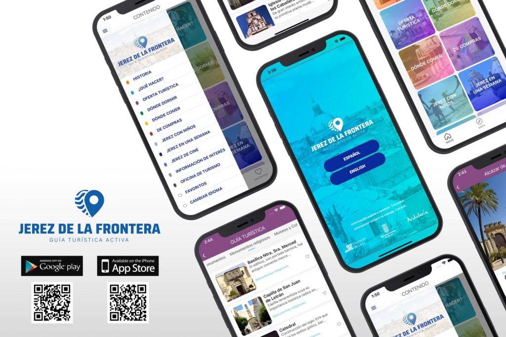 Aplicación Móvil Turismo Jerez - Creaktiva