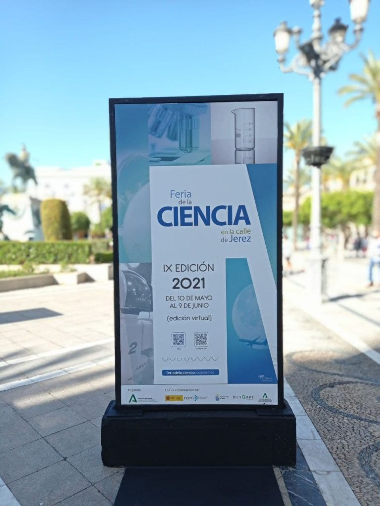 Feria de la Ciencia en La Calle de Jerez 2021 - Creaktiva